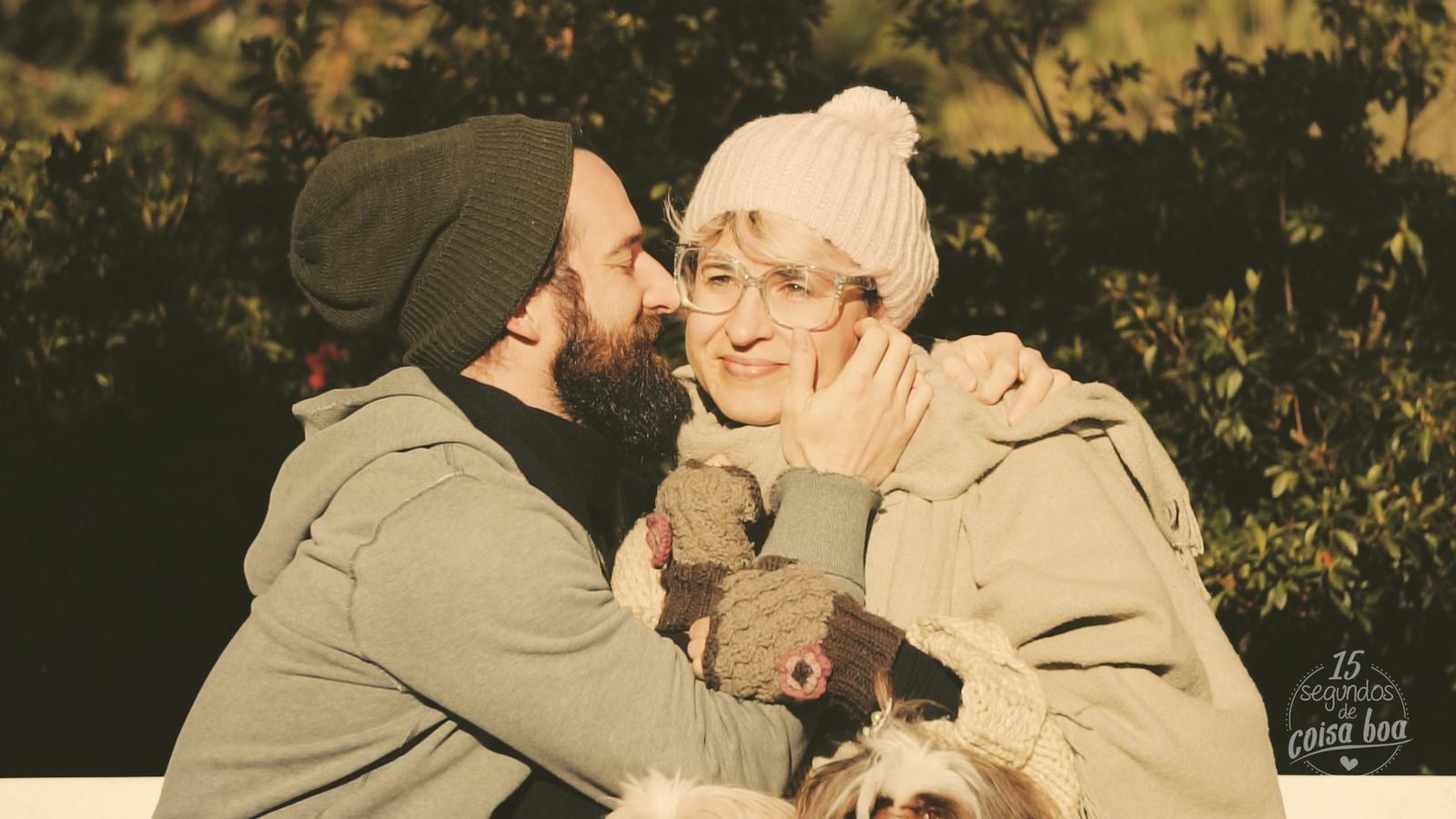 Casal - Namorados e Outono
