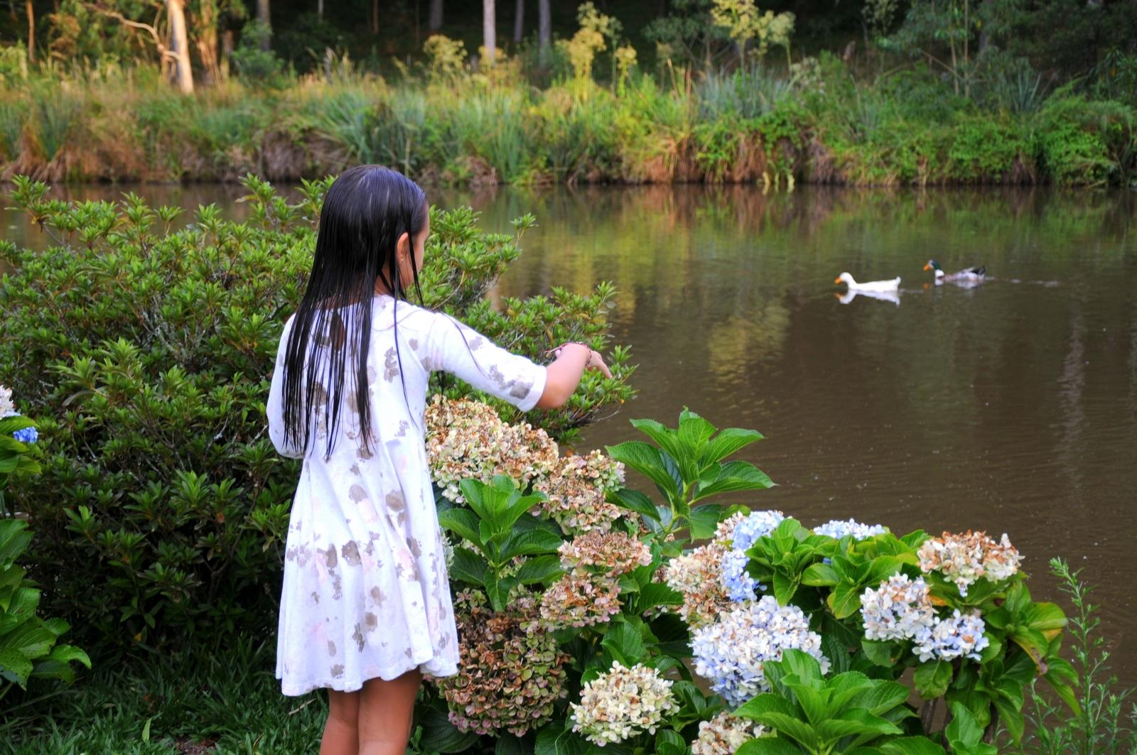 Crianças - Lago - Hotel Bangalôs da Serra :: Gramado
