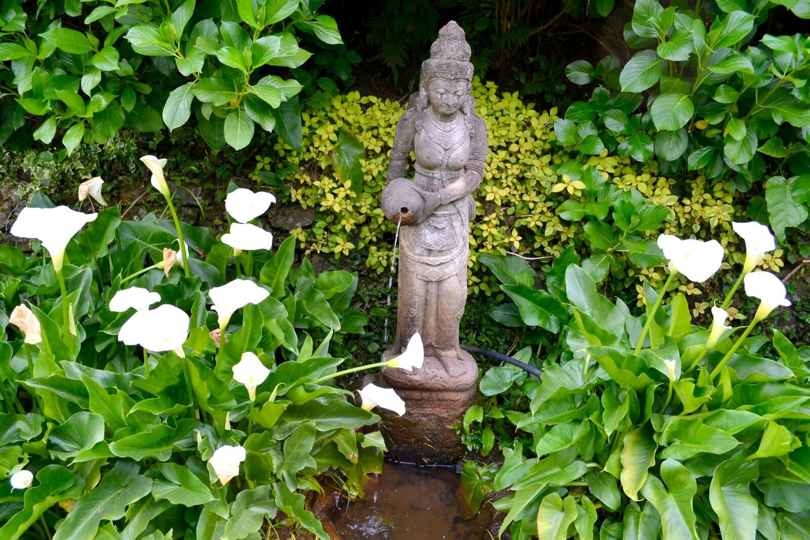 Jardim Zen - Fonte