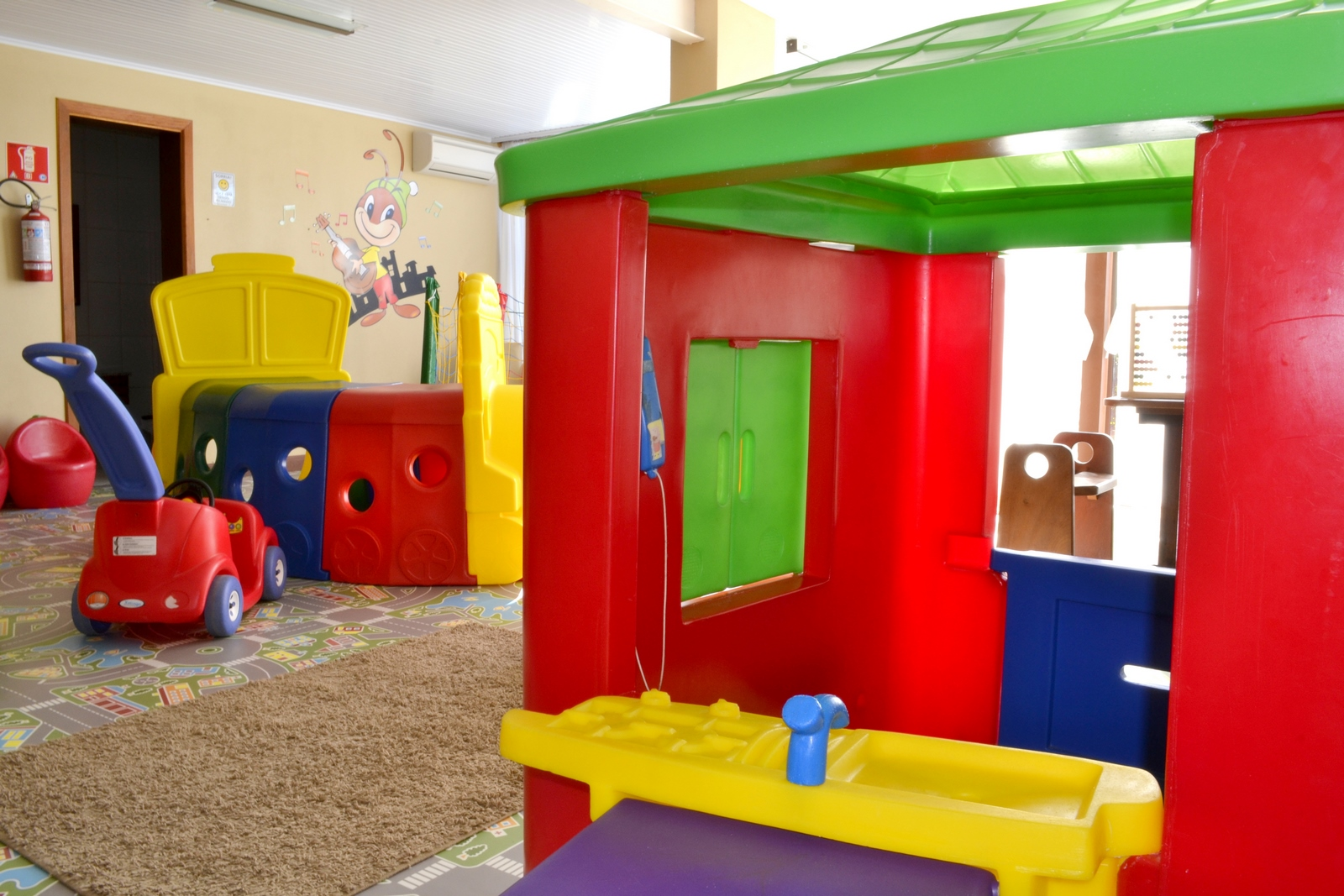 Sala de Recreação - Hotel Bangalôs da Serra :: Gramado