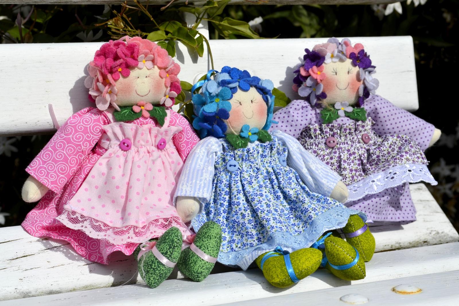 Boneca Hortensia