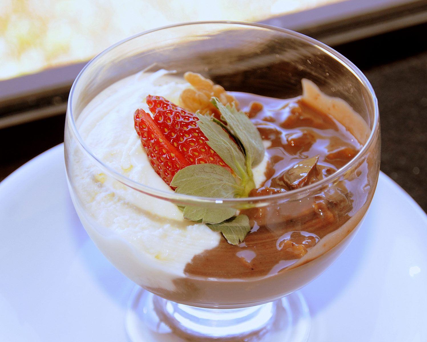 Strogonoff de Chocolate - Cardápio do Hotel Bangalôs da Serra - Gramado - Serra Gaúcha