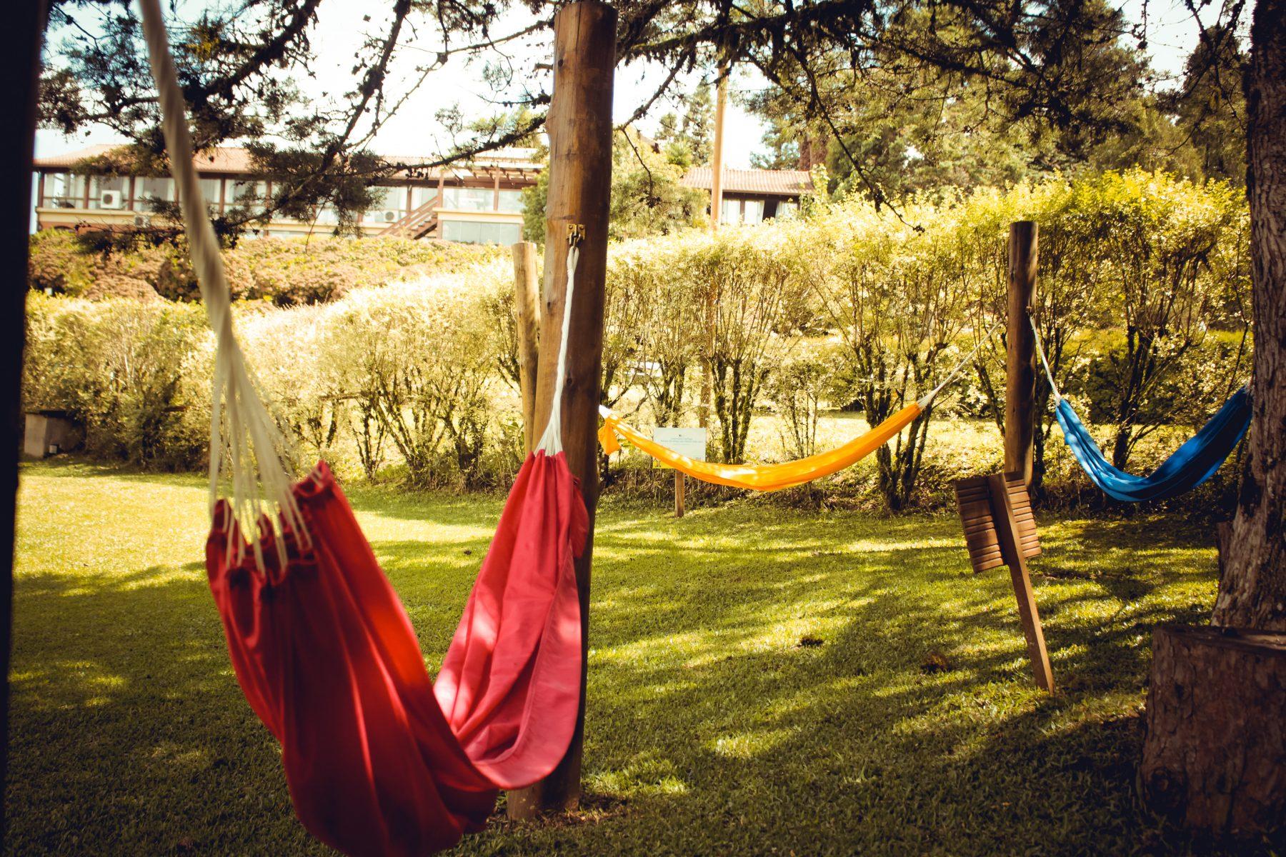 Redes no Hotel Bangalôs da Serra de Gramado - Foto: Natassia Truz Moraes