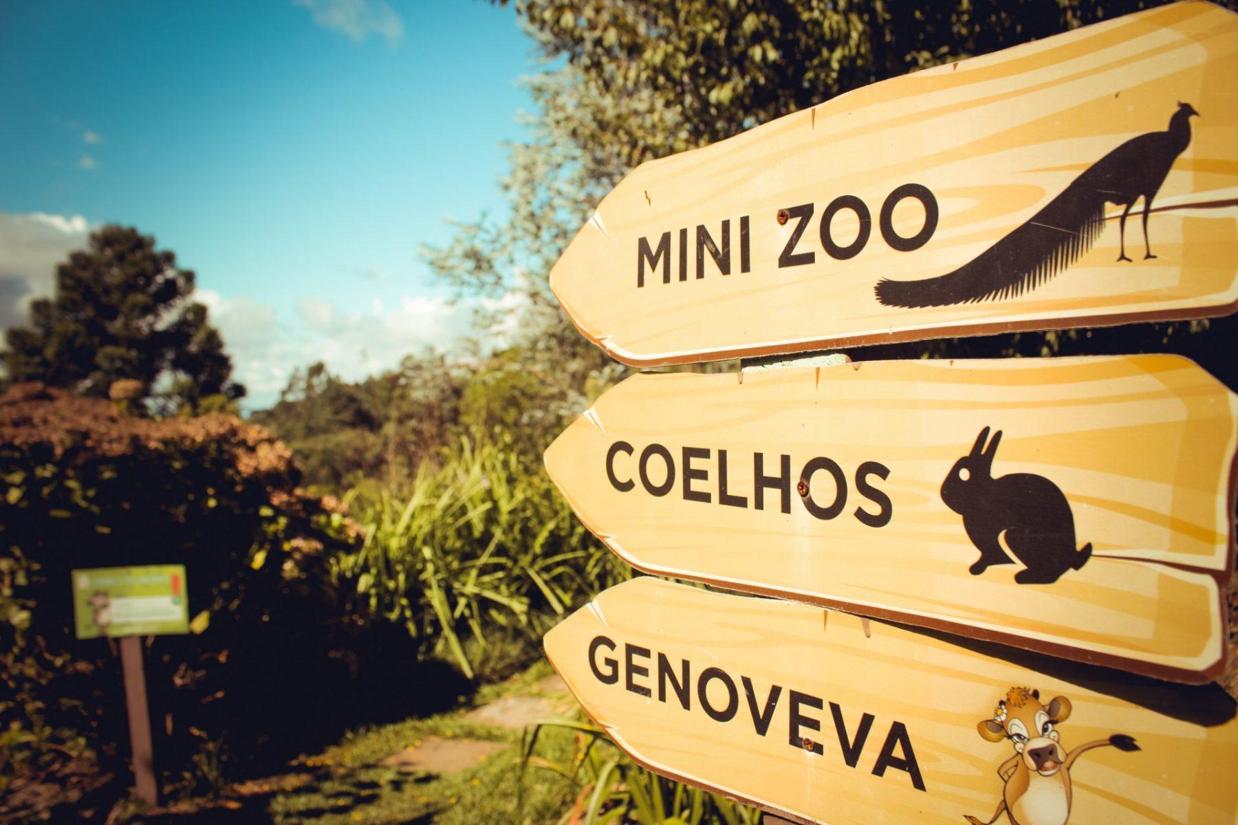 MiniZoo no Hotel Bangalos da Serra em Gramado na Serra Gaúcha