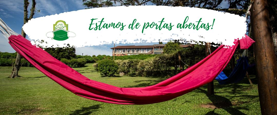 Estamos de portas abertas para se hospedar em Gramado - Melhor hotel de Gramado