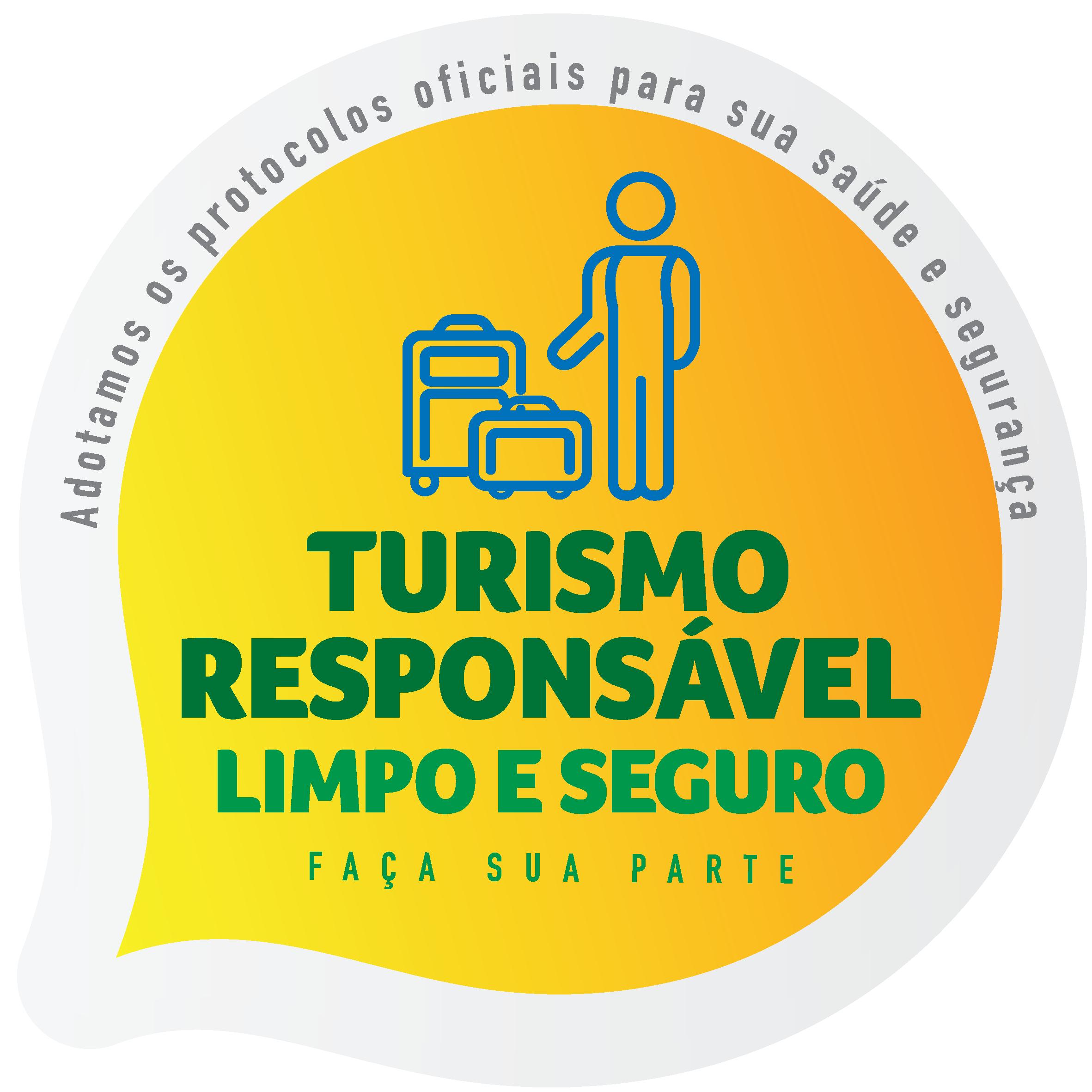 Selo Turismo Responsável – Limpo e Seguro