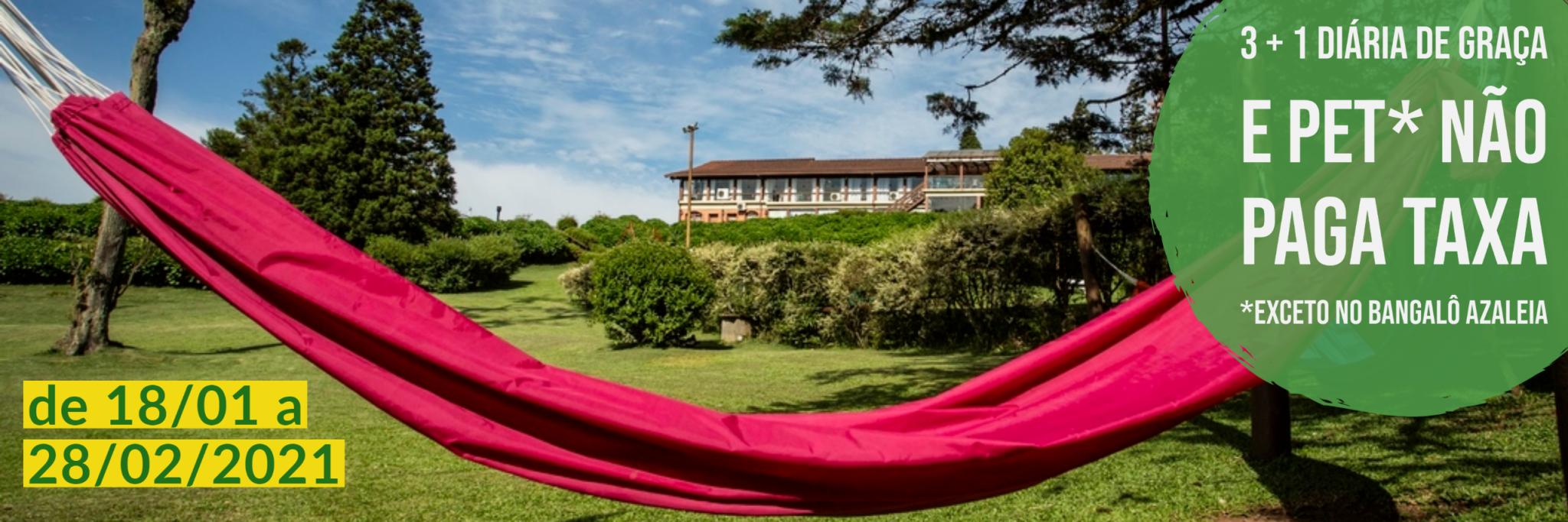 Promo Verão em Gramado - Cabanas na Serra Gaúcha