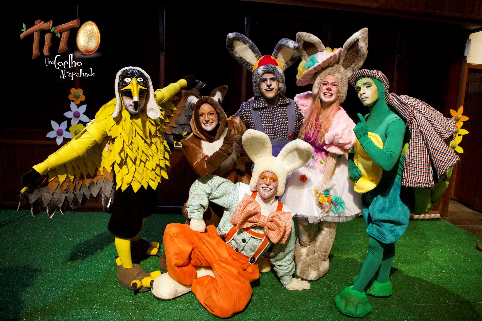 Tito, um coelho atrapalhado 2021 – Teatro Musical Infanti