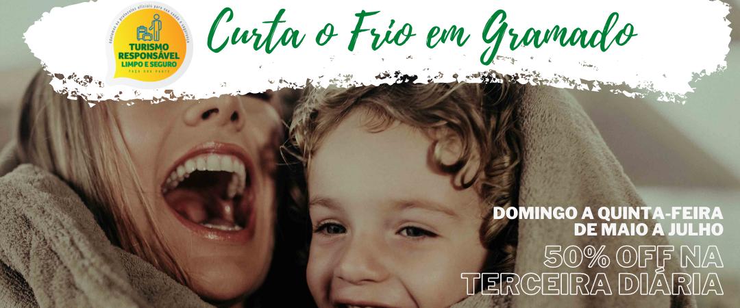 Reserve em Gramado com 50% de desconto